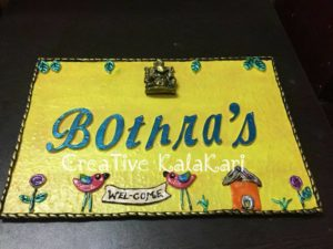 3D Customized Nameplate
