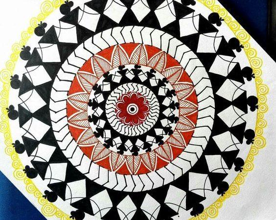 Warli Art Painting