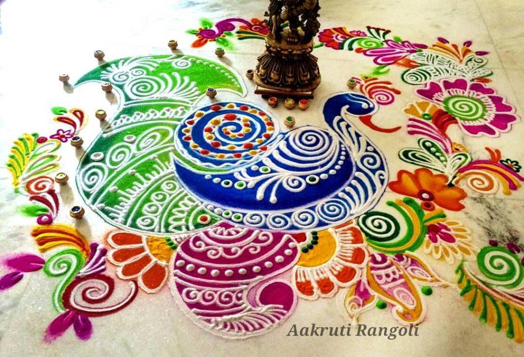 Simple Rangoli Designs For Diwali 6