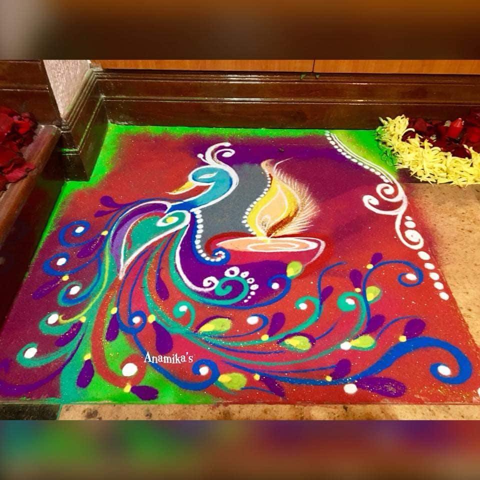 Simple Rangoli Designs For Diwali 15