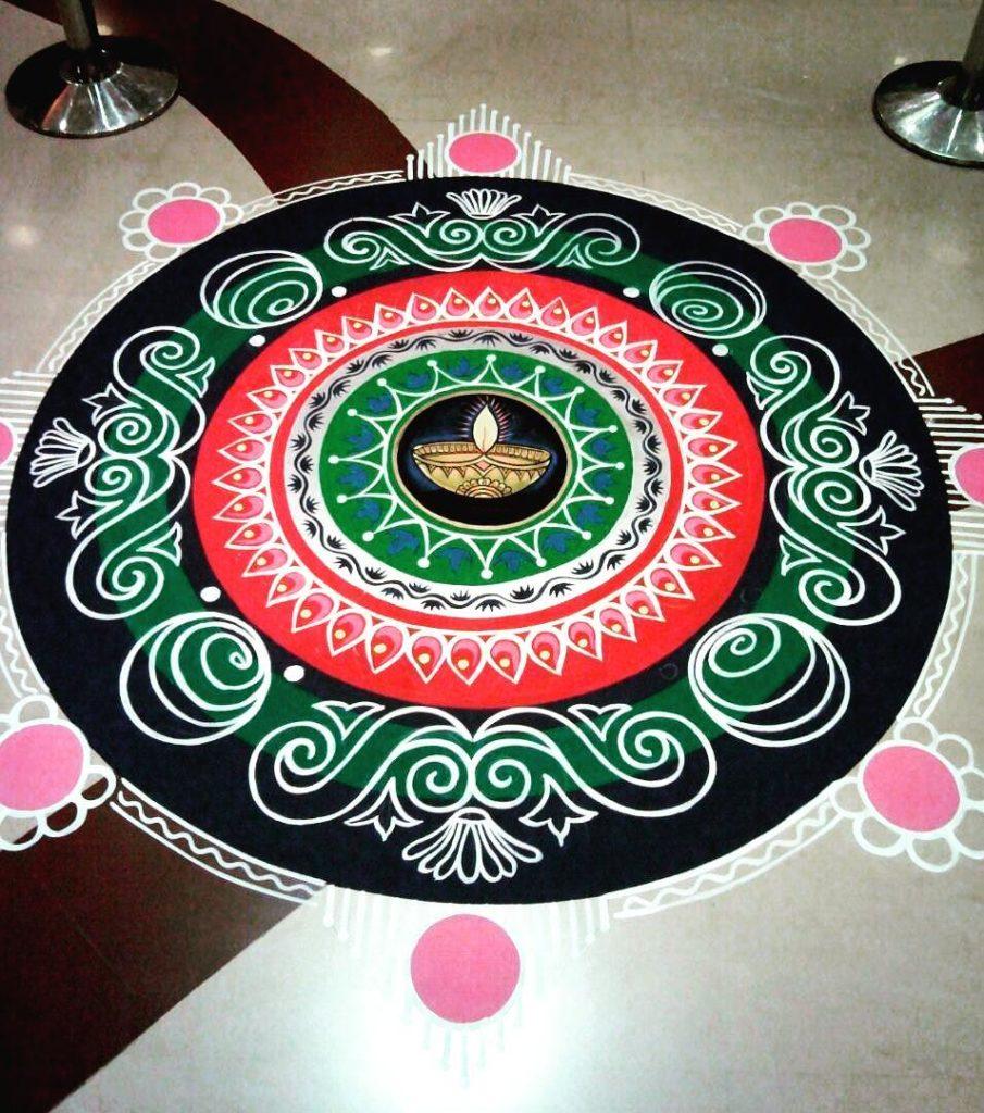 Simple Rangoli Designs For Diwali 5