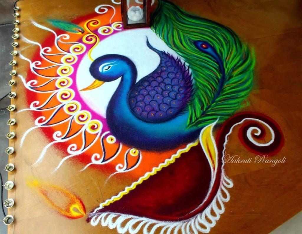 Simple Rangoli Designs For Diwali 1