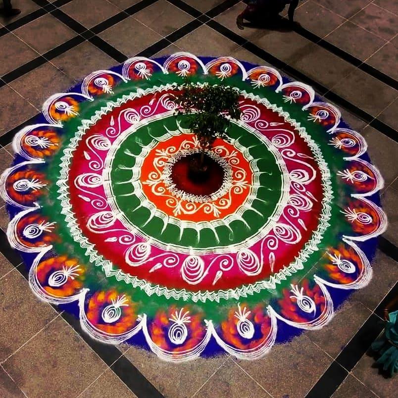 Simple Rangoli Designs For Diwali 17