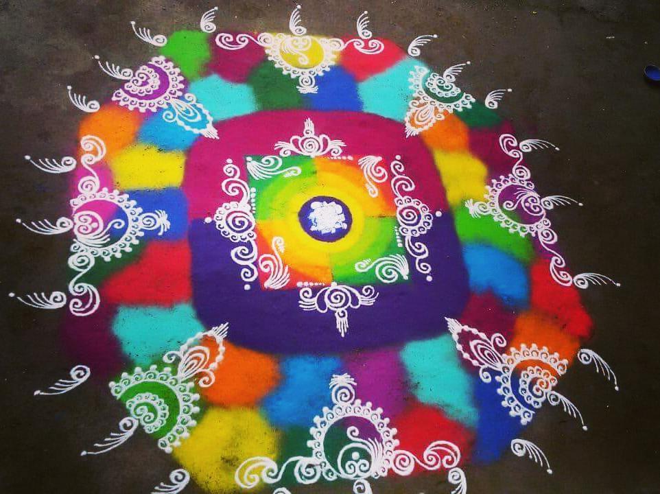 Simple Rangoli Designs For Diwali 18