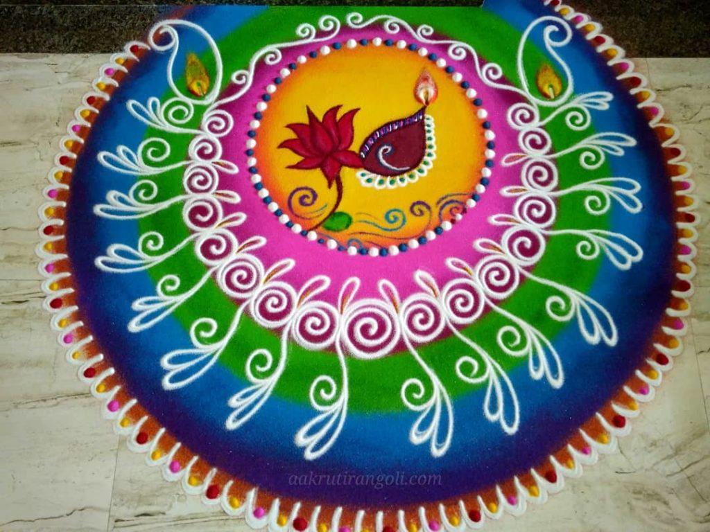 Simple Rangoli Designs For Diwali 2