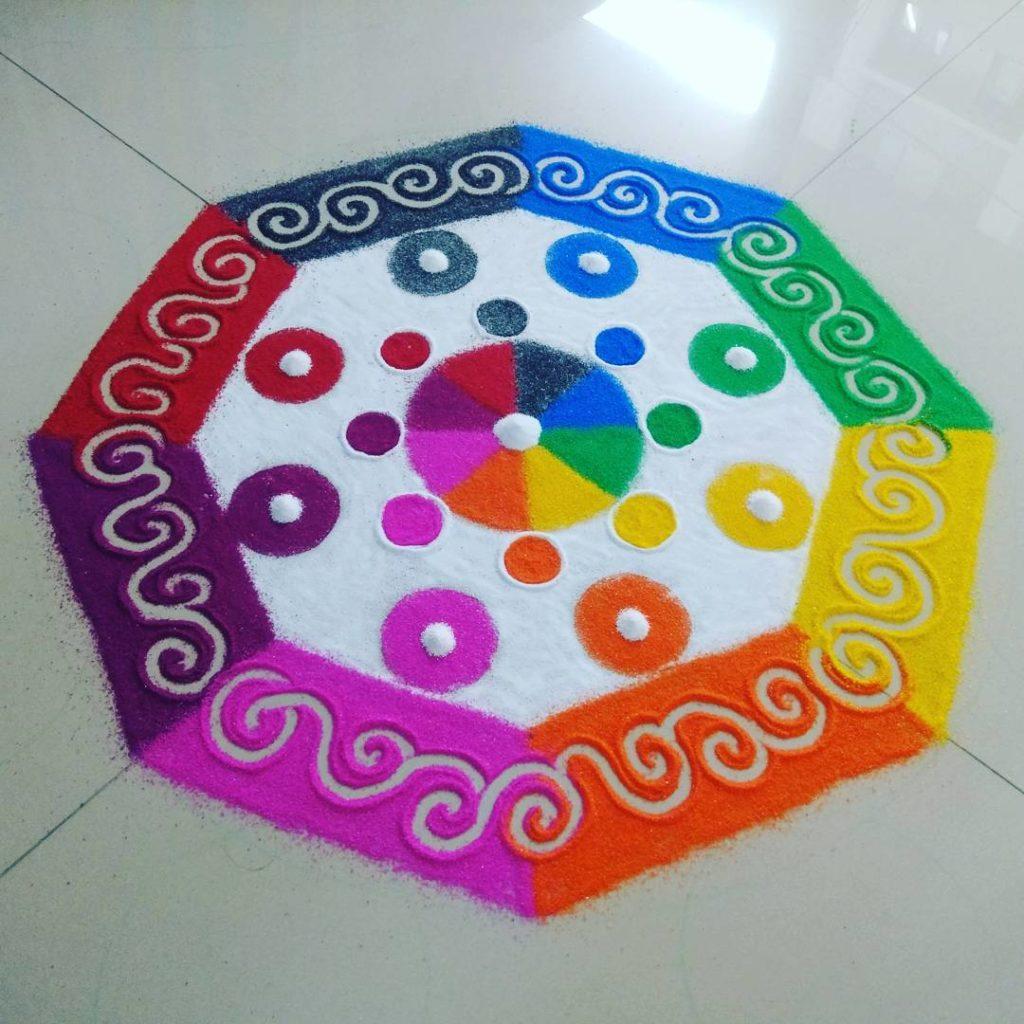 Simple Rangoli Designs For Diwali 16