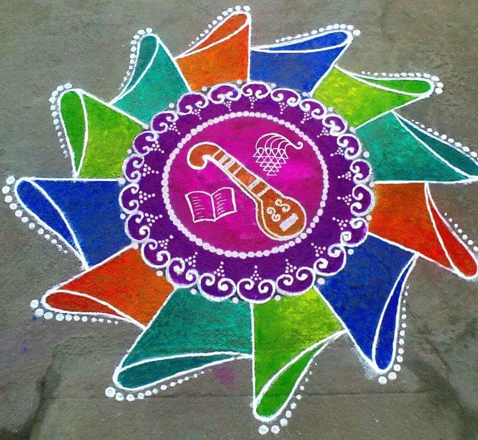 Simple Rangoli Designs For Diwali 21