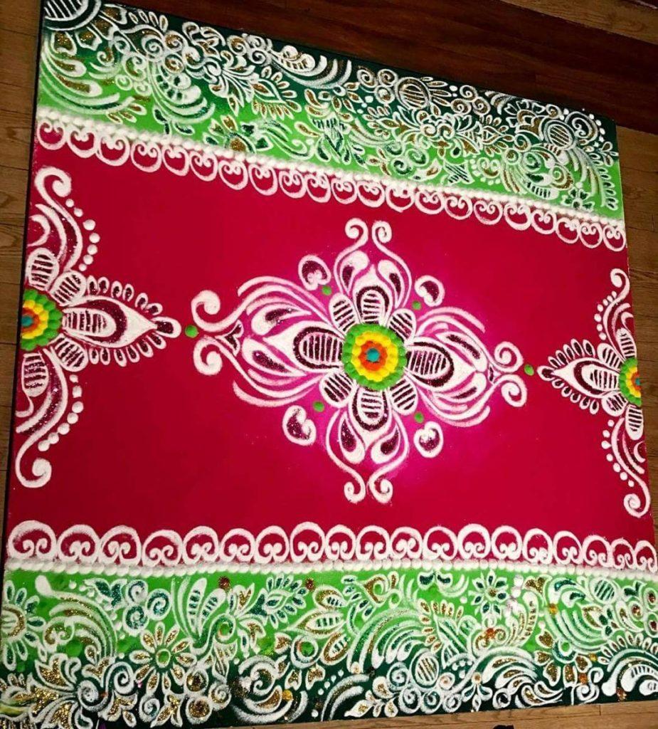 Simple Rangoli Designs For Diwali 20