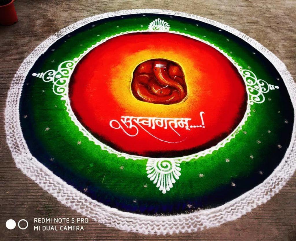 Simple Rangoli Designs For Diwali 22