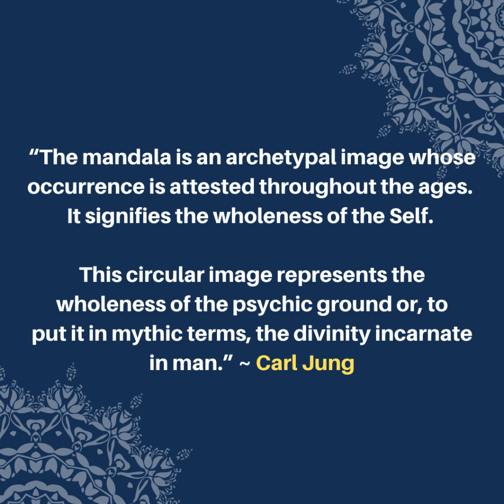 CARL JUNG MANDALA ART