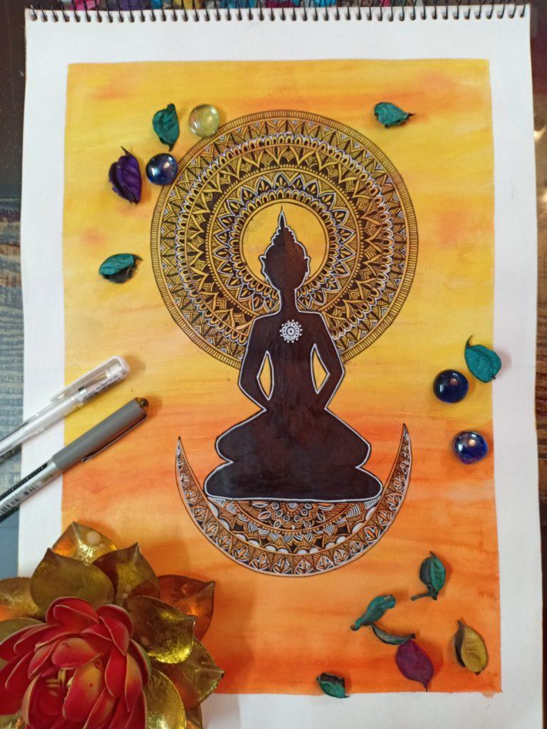 online mandala art workshop